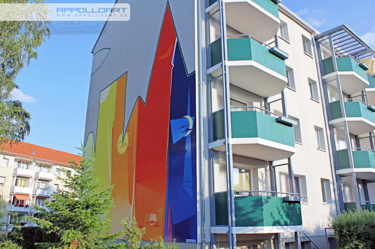 Complessi per uffici in stile  di  Wandgestaltung Graffiti Airbrush von Appolloart