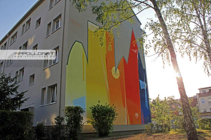 Oficinas y tiendas de estilo  por  Wandgestaltung Graffiti Airbrush von Appolloart
