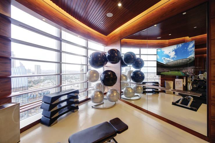 Комната для спорта в . Автор – Glassinnovation - Glass'IN