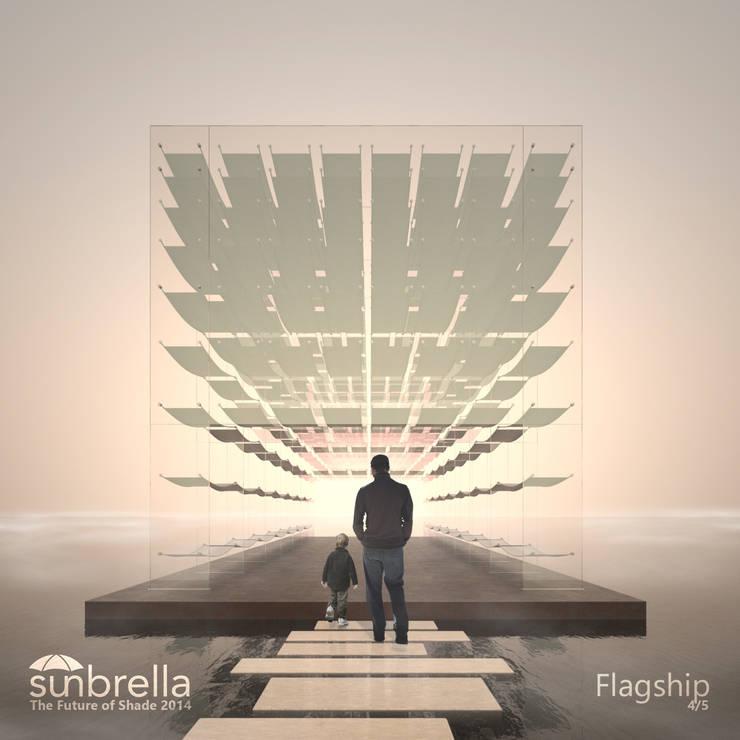 Flagship. Concurso Internacional Sunbrella Future of Shade 2014 Projecto Vencedor de uma Menção Honrosa Abril 2014:   por João Araújo Sousa & Joana Correia Silva Arquitectura