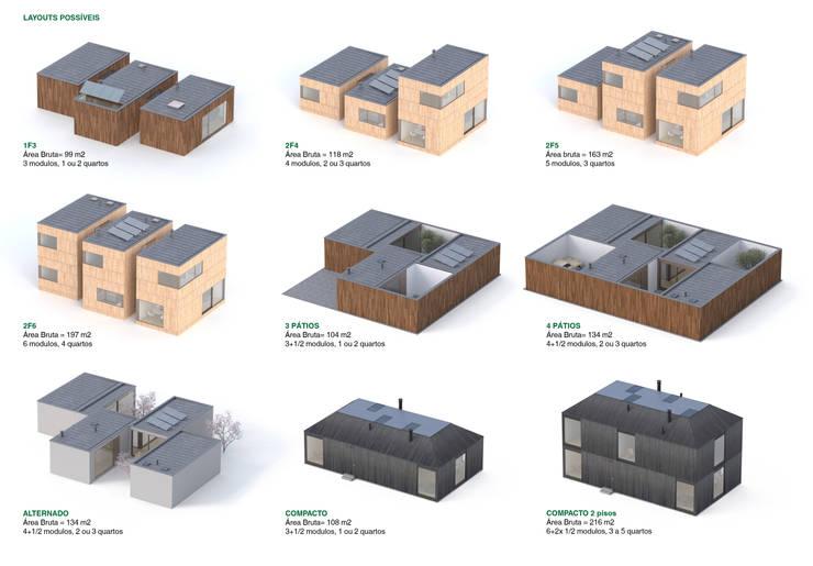 Redux - Arquitectura Modular Sustentável:   por João Araújo Sousa & Joana Correia Silva Arquitectura