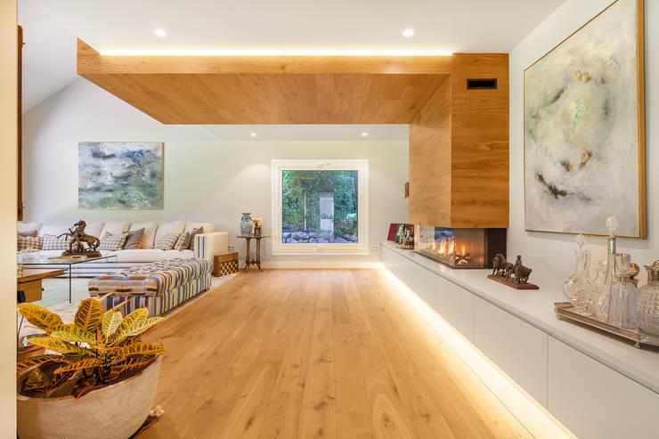 Salas de estar modernas por Tarimas de Autor