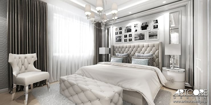 Bedroom by ArtCore Design