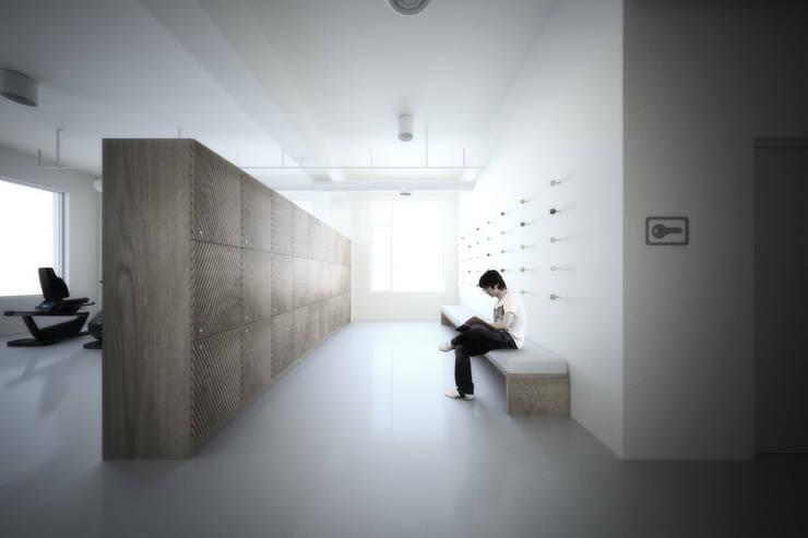 Directions – AIM Coworking Space Design Competition, Beijing:   por João Araújo Sousa & Joana Correia Silva Arquitectura