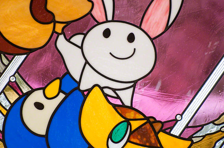 ウサギさんアップ: マルグラスデザインスタジオが手掛けた学校です。,