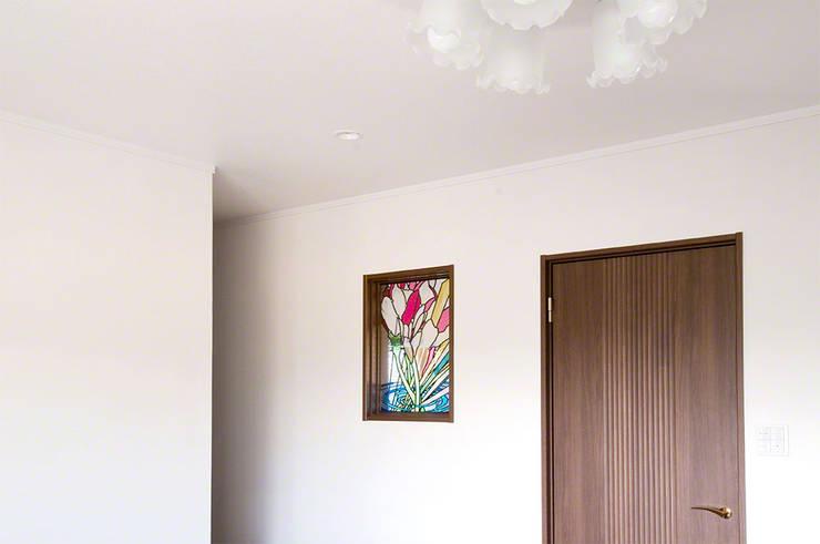 施工写真1: マルグラスデザインスタジオが手掛けた和室です。,