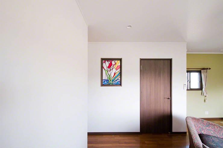 施工写真2: マルグラスデザインスタジオが手掛けた和室です。,