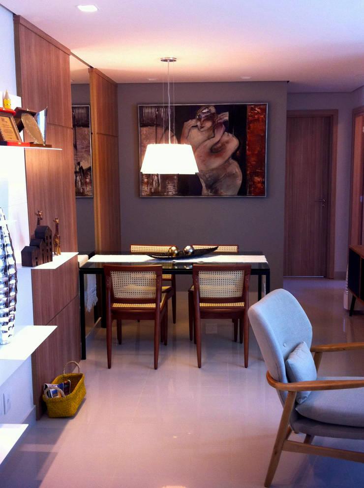 Sala de Jantar: Salas de jantar  por Jaqueline Vale Arquitetura