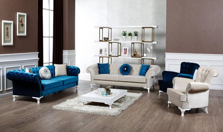 Living room تنفيذ YILDIZ MOBİLYA