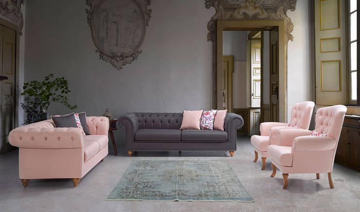 modern Living room تنفيذ YILDIZ MOBİLYA