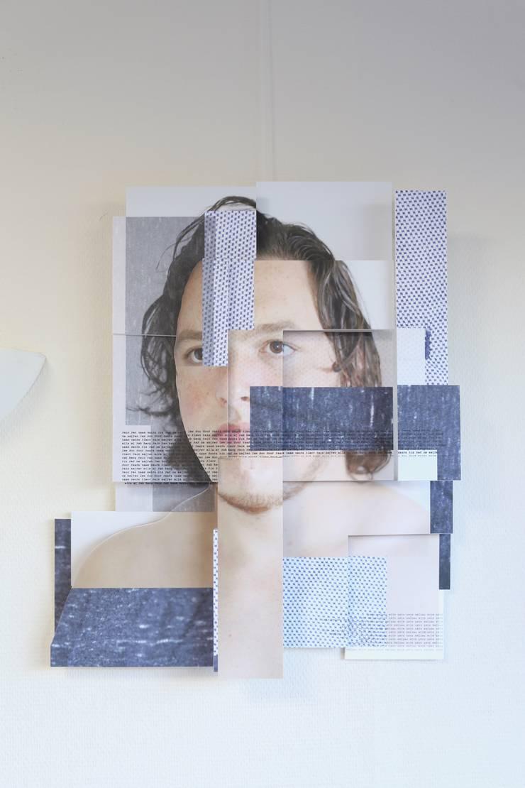 Art.5231185: modern  door KRIS doet kunst, Modern Kunststof