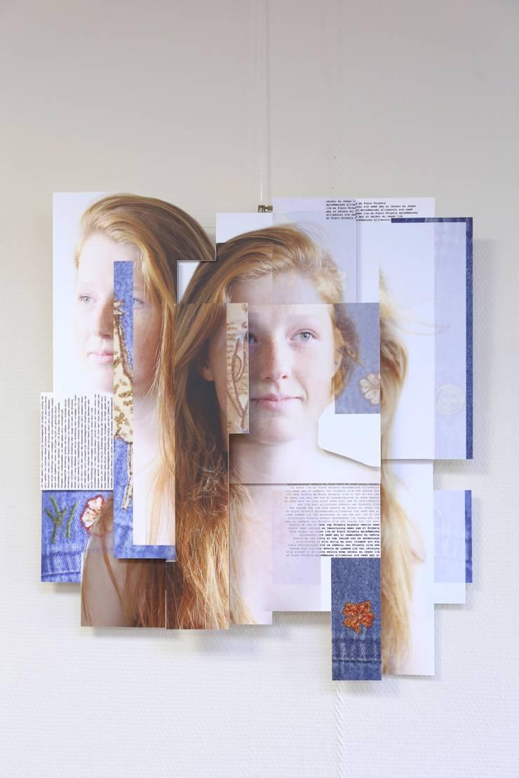Art.131189520205: modern  door KRIS doet kunst, Modern Kunststof