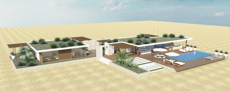 vista: Casas  por Renato Teles Arquitetura