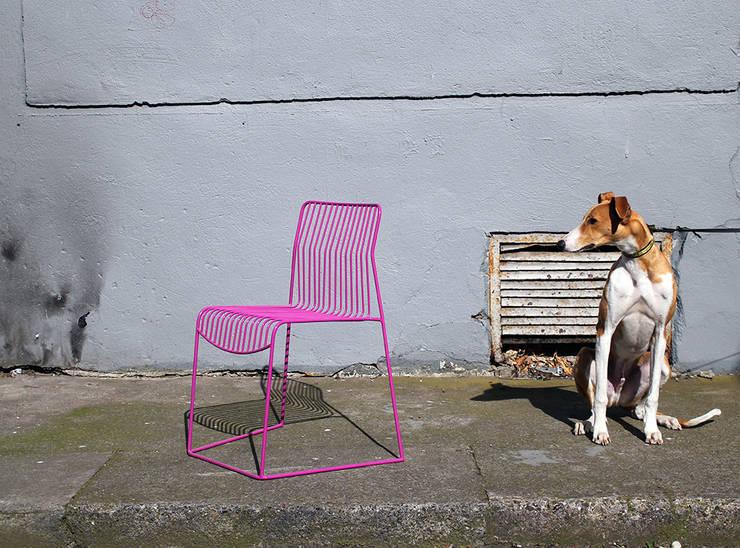 loft evo krzesło : styl , w kategorii Salon zaprojektowany przez Modestwork