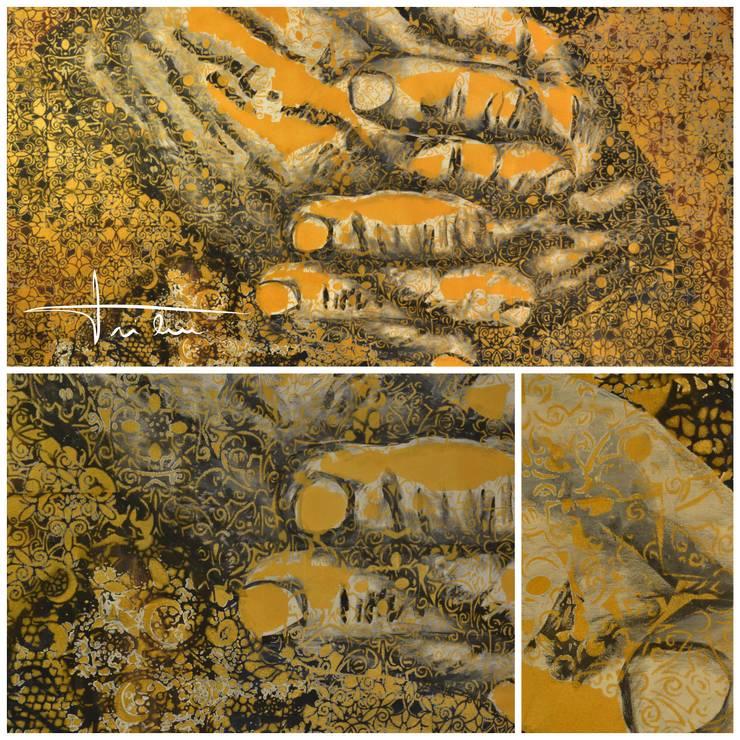 Golden Hands: Arte  por Blue Art Factory