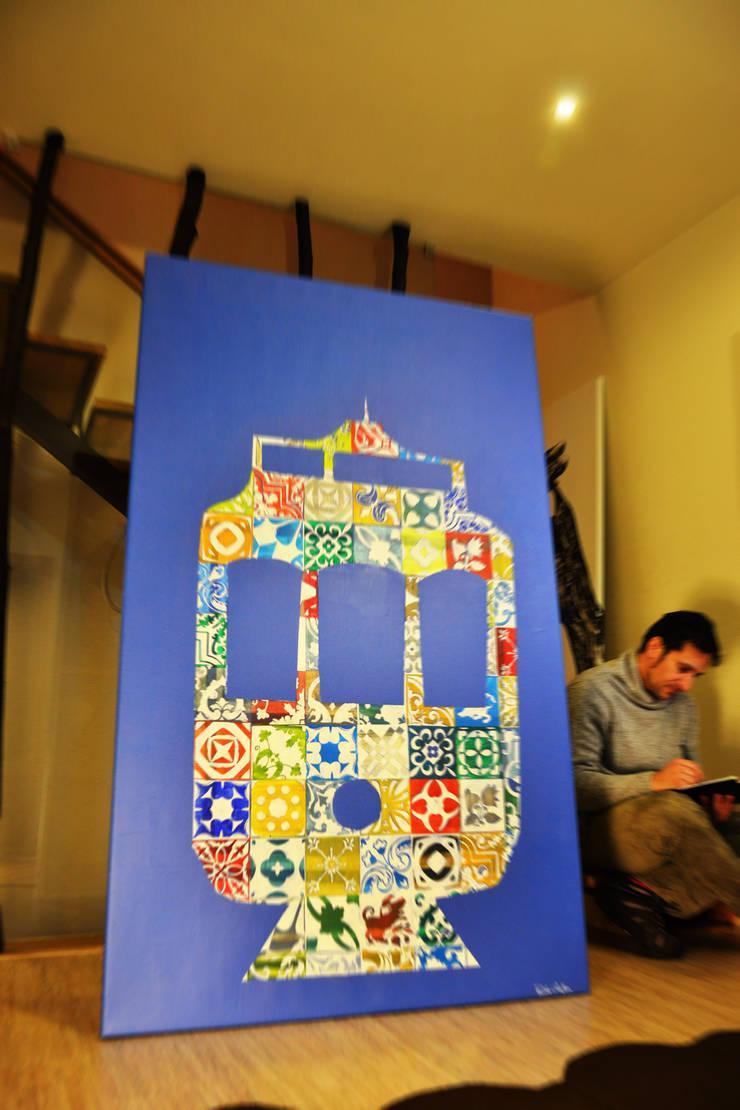 Elétrico - série POP.tugal: Arte  por Blue Art Factory