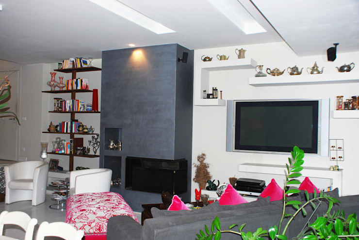Living room by architetto raffaele caruso,
