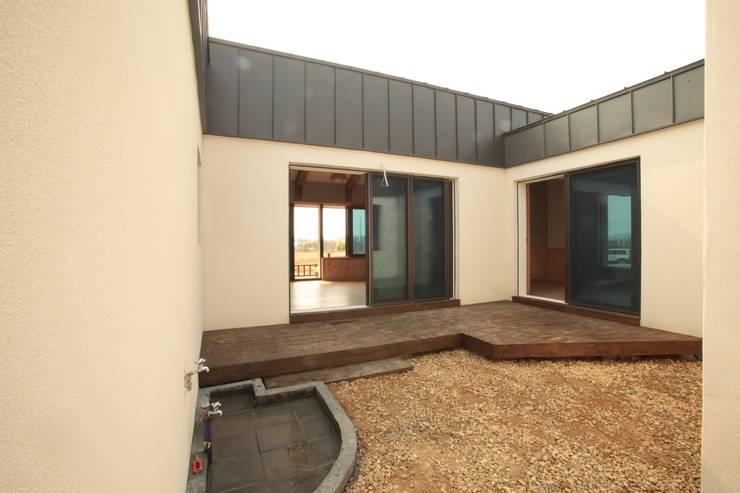 Projekty,  Domy zaprojektowane przez 집스터디 건축 스튜디오_JIP STUDY ARCHITECTS STUDIO