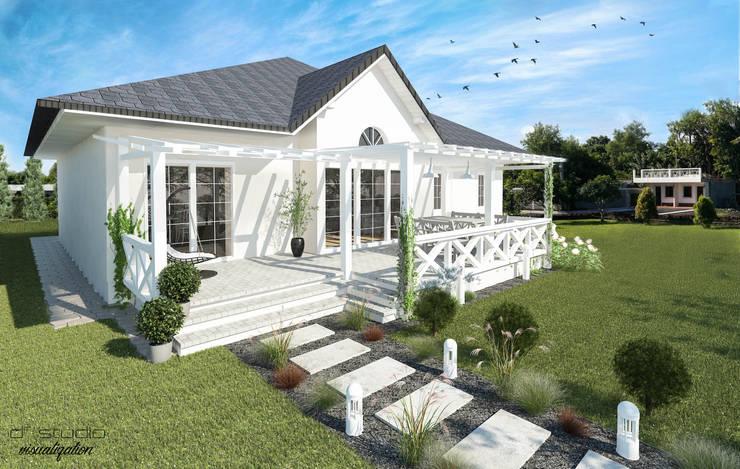 Taras dla At Amelia's Home / Tarace for At Amelia's Home: styl , w kategorii Taras zaprojektowany przez D2 Studio