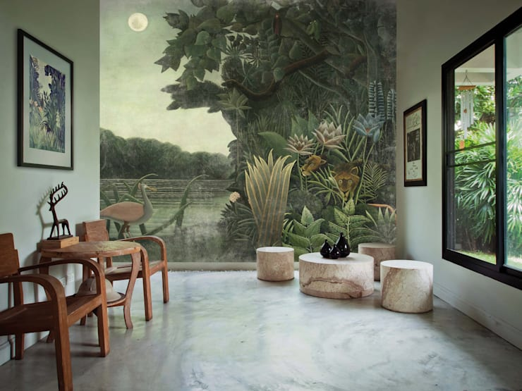 Walls & flooring by Wzorywidze.pl