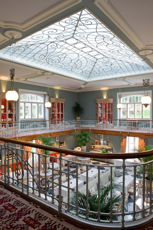 Vidago Palace Hotel: Corredores e halls de entrada  por Ferreira de Sá