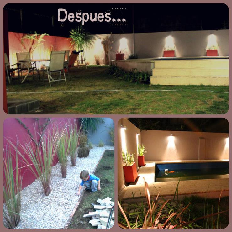 Giardino in stile in stile Moderno di LAS MARIAS casa & jardin
