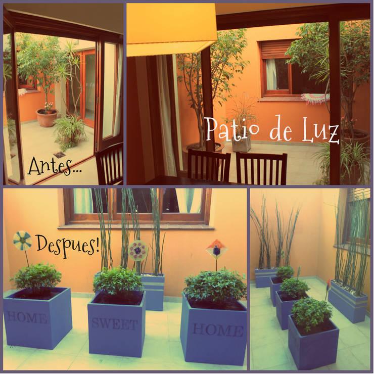 Jardin d'hiver de style  par LAS MARIAS casa & jardin