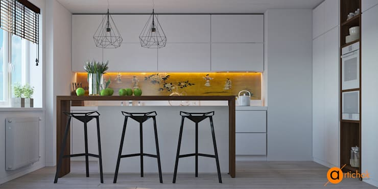 Kitchen by Art-i-Chok