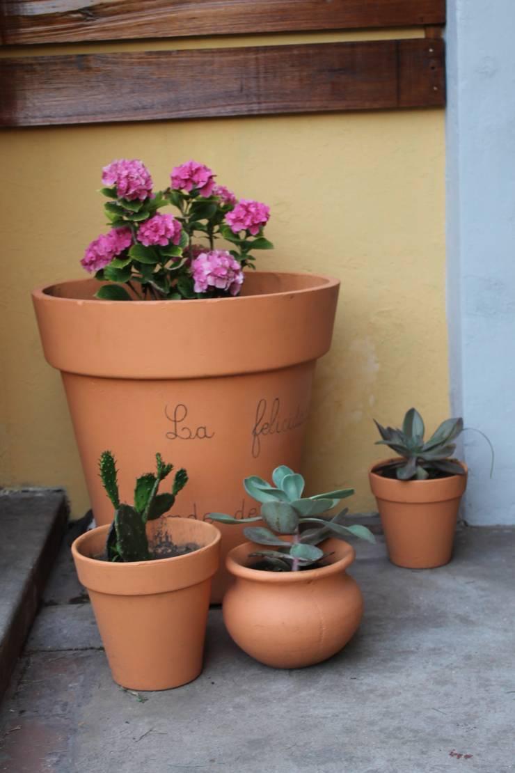 Jardin privado Jardines modernos: Ideas, imágenes y decoración de LAS MARIAS casa & jardin Moderno