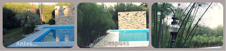 Piscines  de style  par LAS MARIAS casa & jardin, Moderne