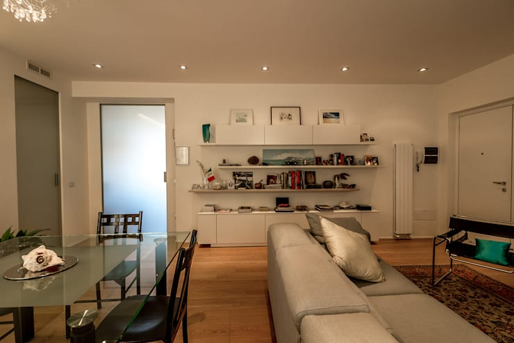 Bartolucci Architetti:  tarz Oturma Odası