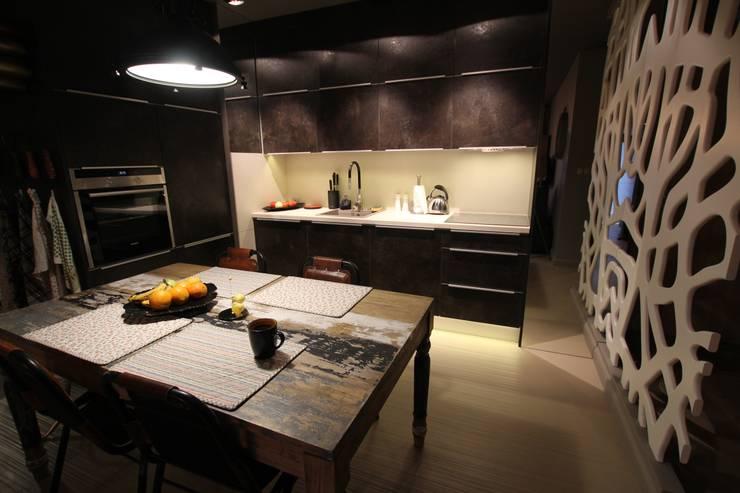 Kuchnia: styl , w kategorii Kuchnia zaprojektowany przez projektowanie wnętrz,Nowoczesny