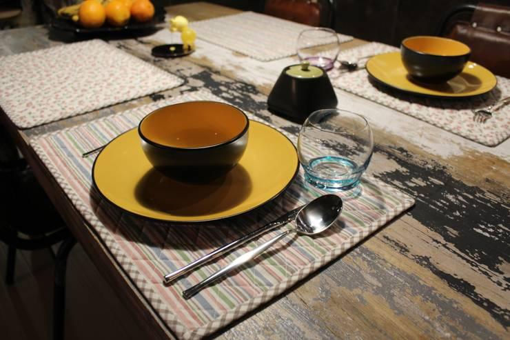 zastawa stołowa: styl , w kategorii Jadalnia zaprojektowany przez projektowanie wnętrz,Nowoczesny