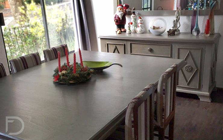 Mesa para comedor: Comedor de estilo  por ESTUDIO FD