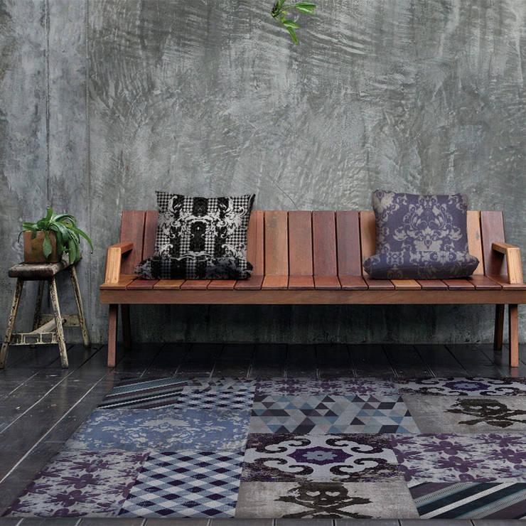 Wzornictwo Yo2 designs: styl , w kategorii Ściany i podłogi zaprojektowany przez Wzorywidze.pl