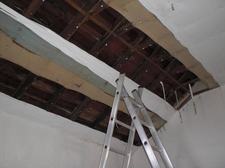 Reabilitação do teto:   por Protecna - Consultores de Engenharia