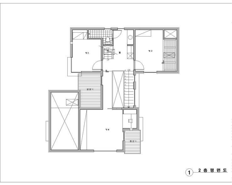Z House: 봄 하우스플랜 의