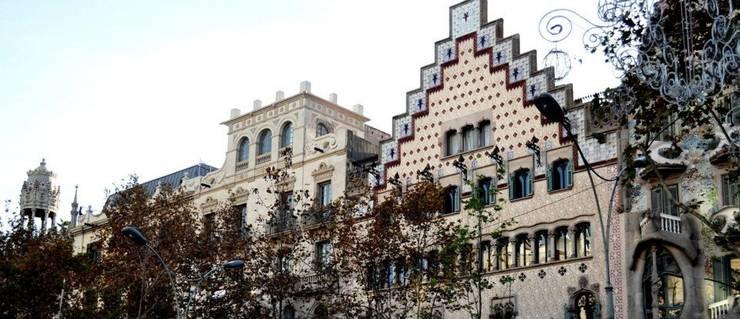 ระเบียง, นอกชาน by Estudio Arquitectura Ricardo Pérez Asin