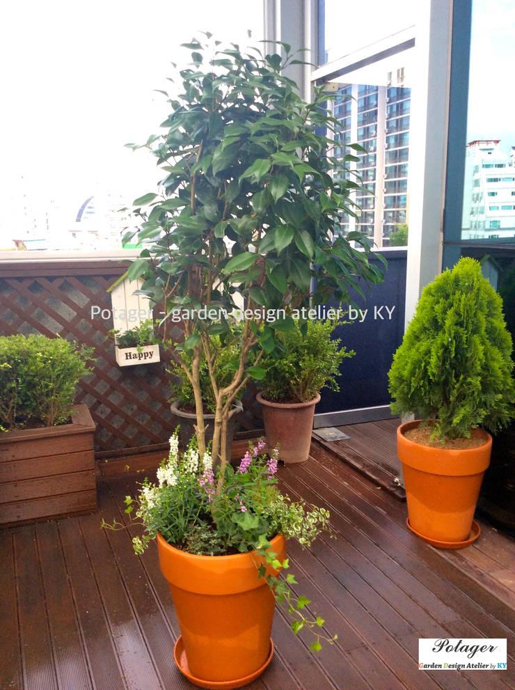 Balcones y terrazas de estilo clásico de Potager Clásico