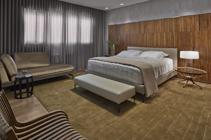 LA28: Casas modernas por David Guerra Arquitetura e Interiores