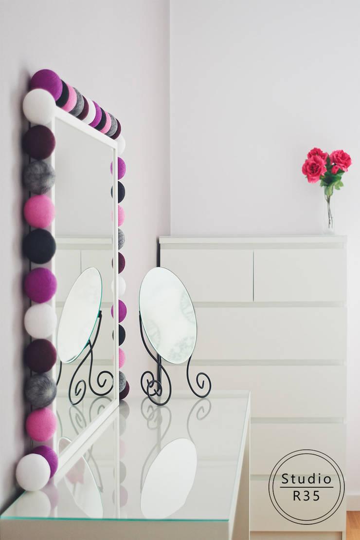 Grochów: styl , w kategorii Sypialnia zaprojektowany przez Studio R35,Nowoczesny