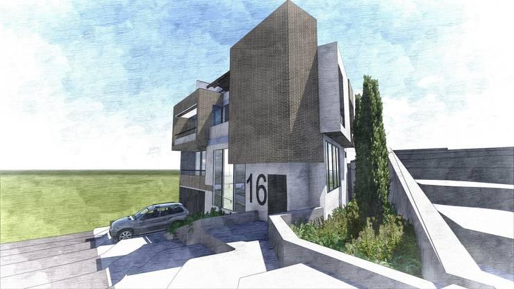 Ilustración general: Casas de estilo  por Le.tengo Arquitectos