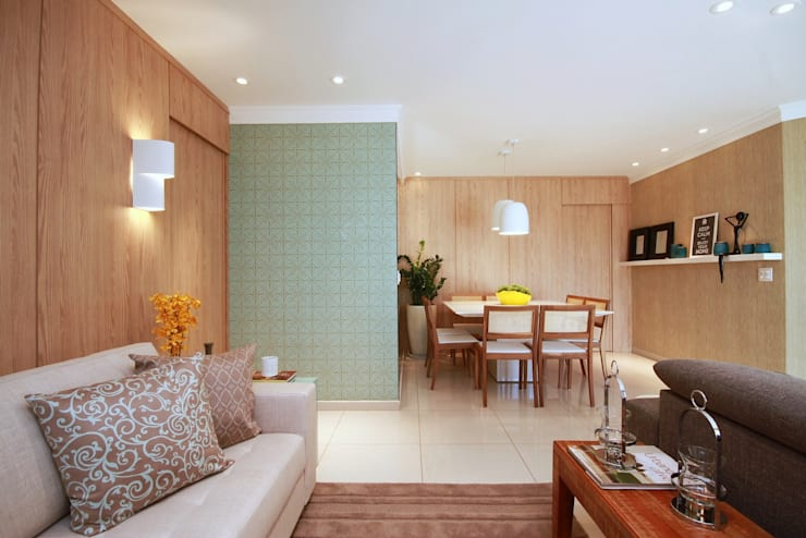 Comedores de estilo  por MeyerCortez arquitetura & design