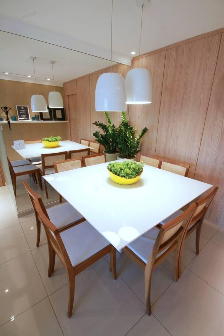 Vila Mascote: Salas de jantar  por MeyerCortez arquitetura & design