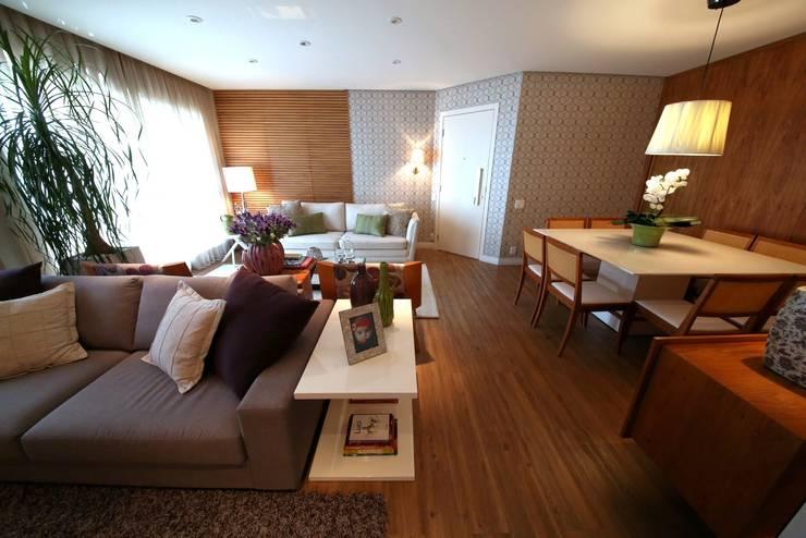 Living room by MeyerCortez arquitetura & design, Modern