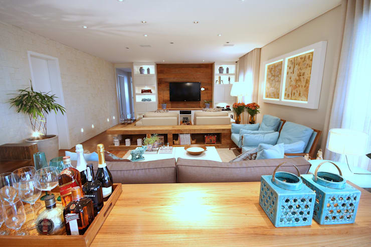 Salas de estar  por MeyerCortez arquitetura & design