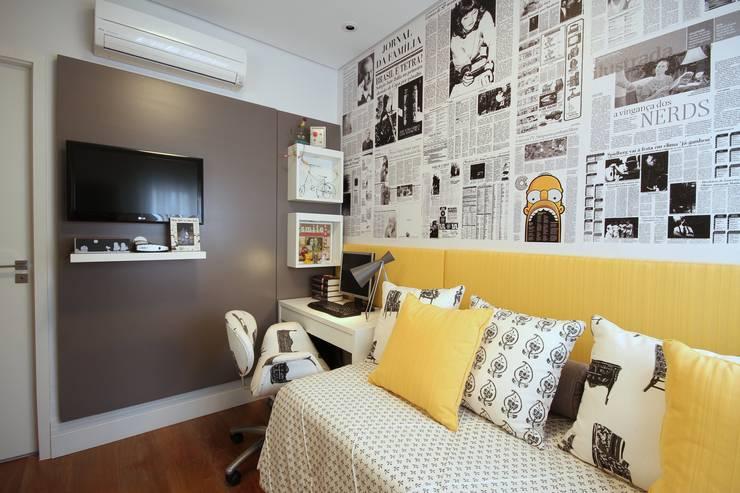 Chambre de style  par MeyerCortez arquitetura & design
