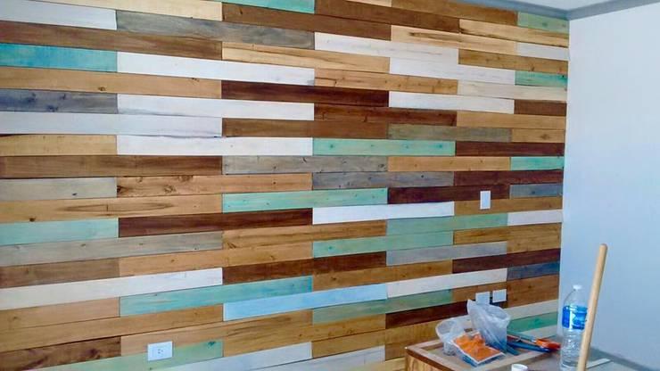 ريفي  تنفيذ Marian de las Camelias, ريفي خشب Wood effect