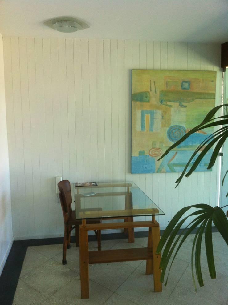 Antes - portaria do apartamento:   por Adriana Leal Interiores