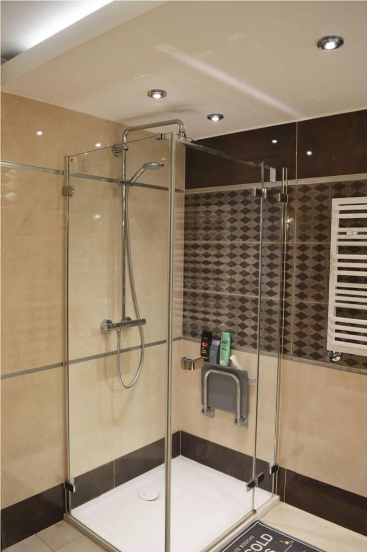 Pokój kąpielowy : styl , w kategorii Łazienka zaprojektowany przez Denika